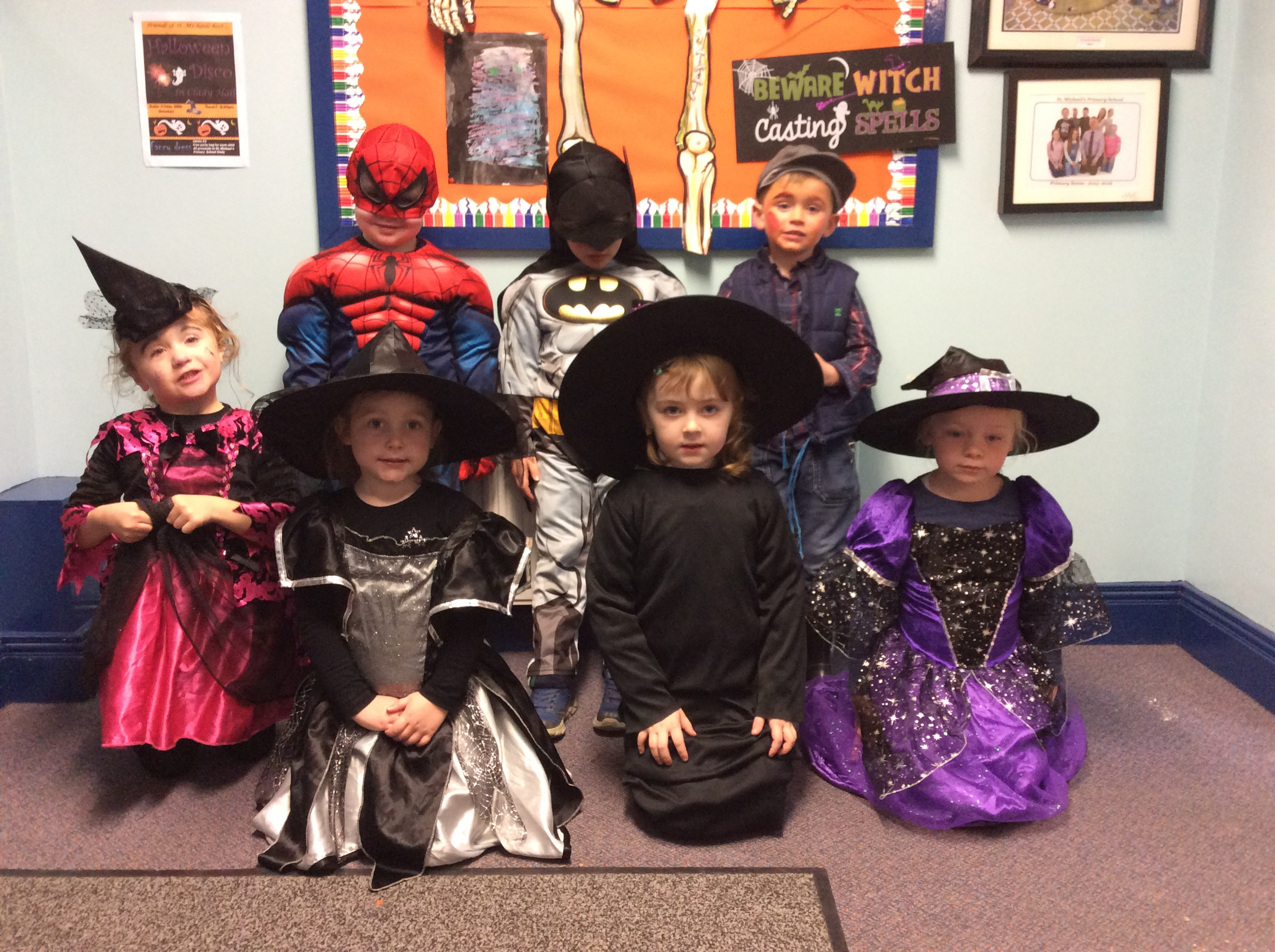Halloween Fun at St Michael's - St. Michael's P.S. — Clady