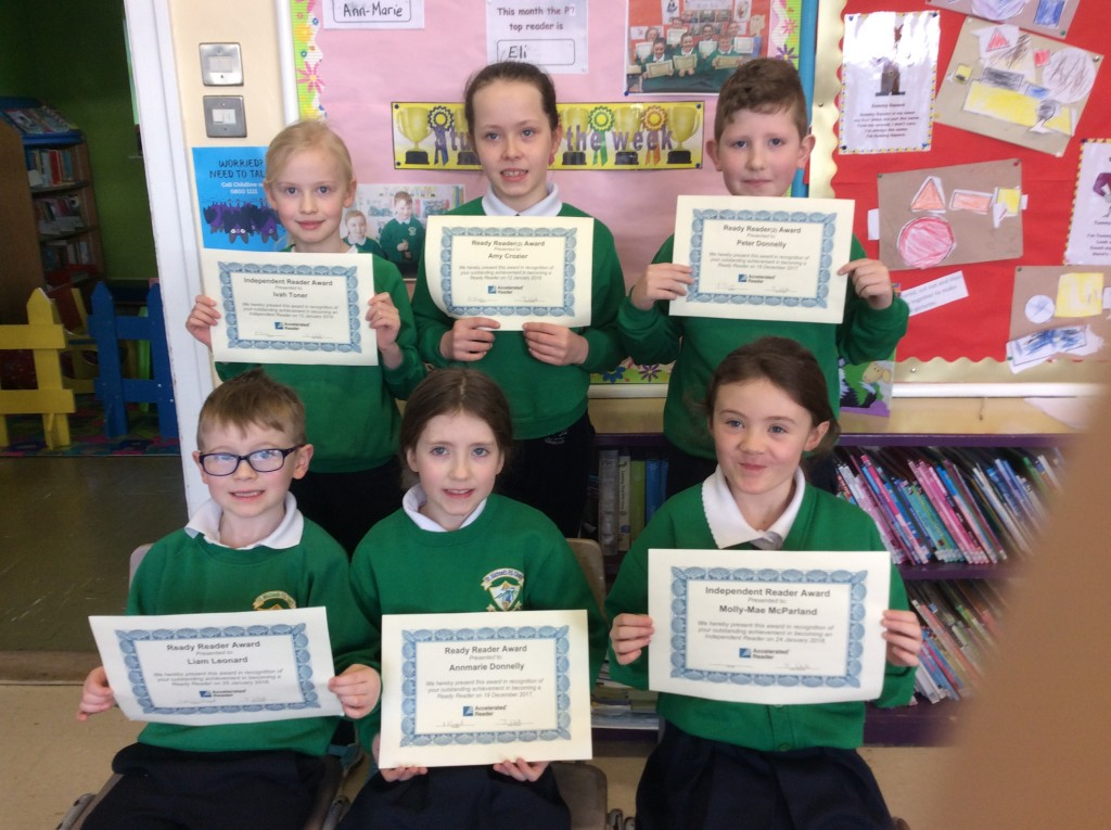 2017/18, Accelerated Reading Awards - 5th February